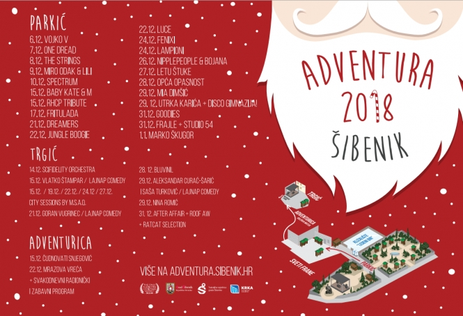 ABOUT NEW YEAR AND HOLIDAYS IN ŠIBENIK