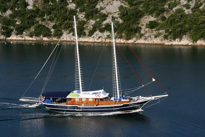 Sail Croatia with gulet Aurum - luxury and more...